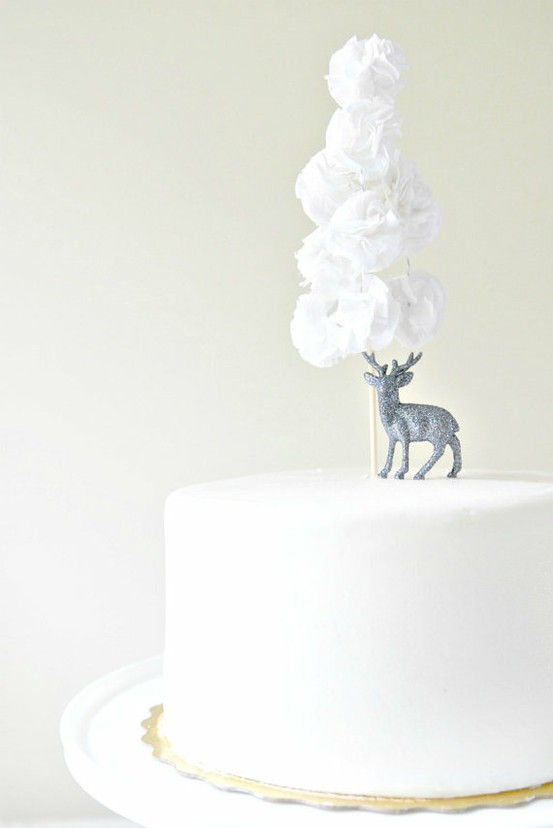 winter cake {blog.weddingwire}