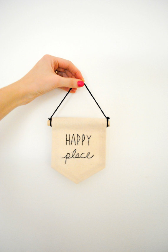 Happy Place Banner Etsy