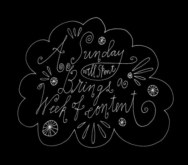 Sunday - Lisa Congdon